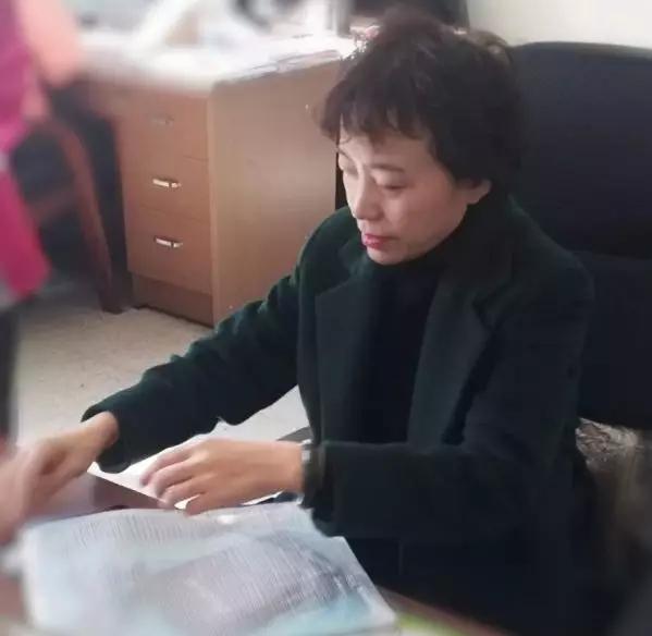 吉林田中迎接责任督学黄淑芳专项督导检查